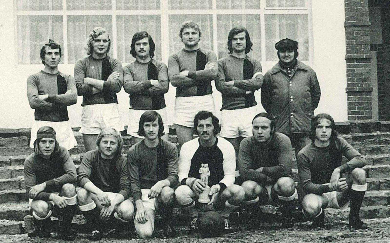 1976 1. Männermannschaft ohne Spielernamen1
